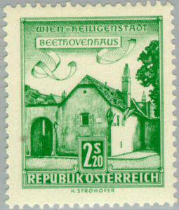 Beethoven's house in Wien-Heiligenstadt (image)