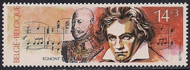 Beethoven's Egmont Overture (image)