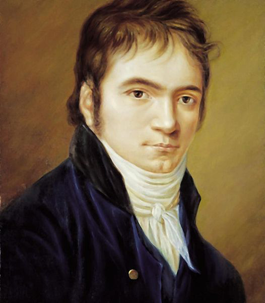 Beethoven in 1803 (image)