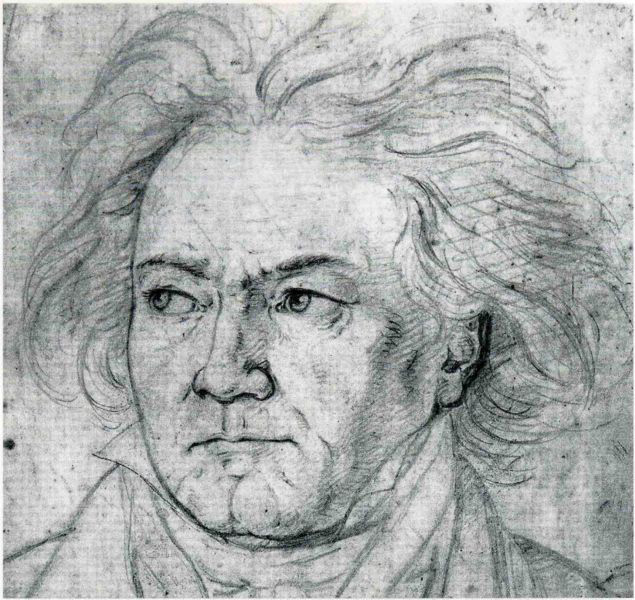 Beethoven in 1818 (image)