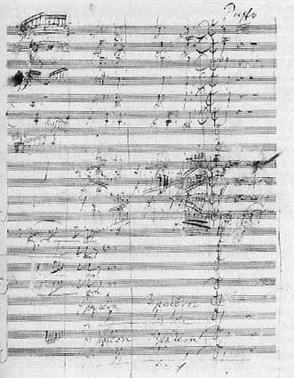 Beethoven's Missa Solemnis (image)