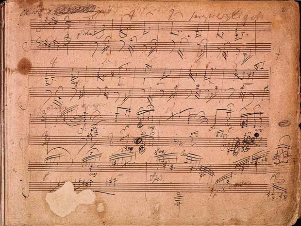 Beethoven's Piano Sonata No. 30 (image)