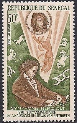 Beethoven and his Eroica Symphony (image)