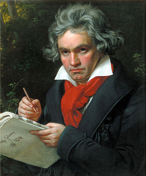 Beethoven in 1820 (image)