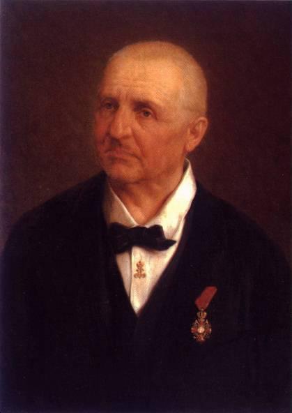 Anton Bruckner portrait, sometime before 1917 (image)