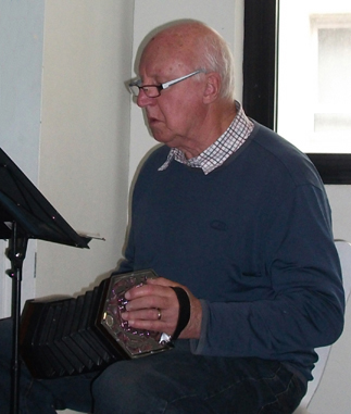 Concertina at a carol concert (image)