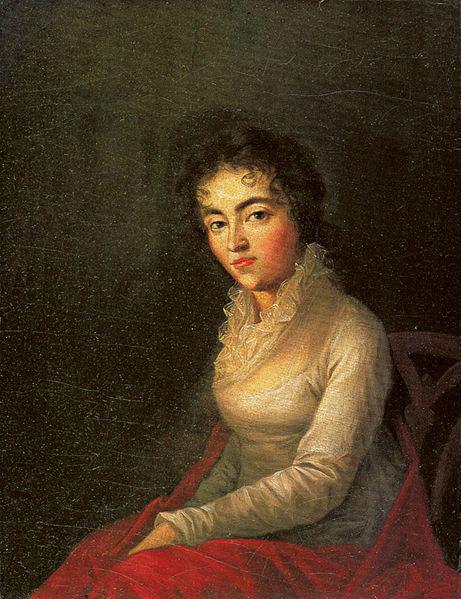 Constanze Mozart, 1782 (image)