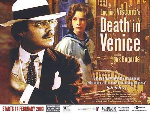 Poster for Visconti's film, Death in Venice poster (image)