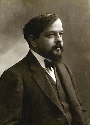 Claude Debussy, 1908 - photo by Felix Nadar (image)