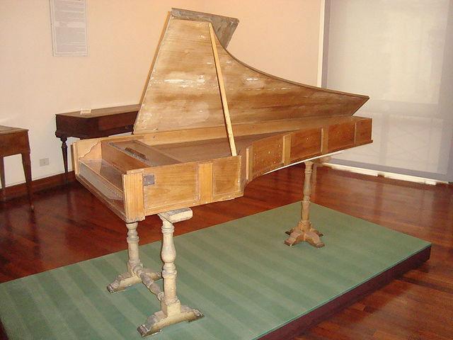 Cristofori fortepiano (1722) (image)