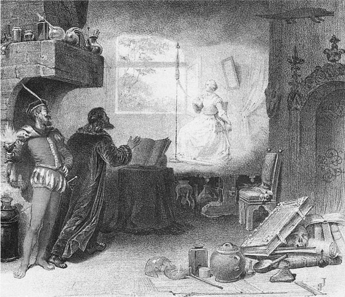 Gounod's Faust, Act I - Covent Garden, 1864 production (image)