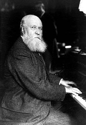 Gounod at the piano (image)
