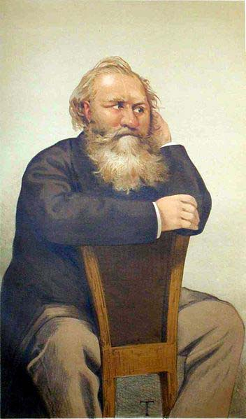Charles Gounod - caricature in Vanity Fair, 1887 (image)