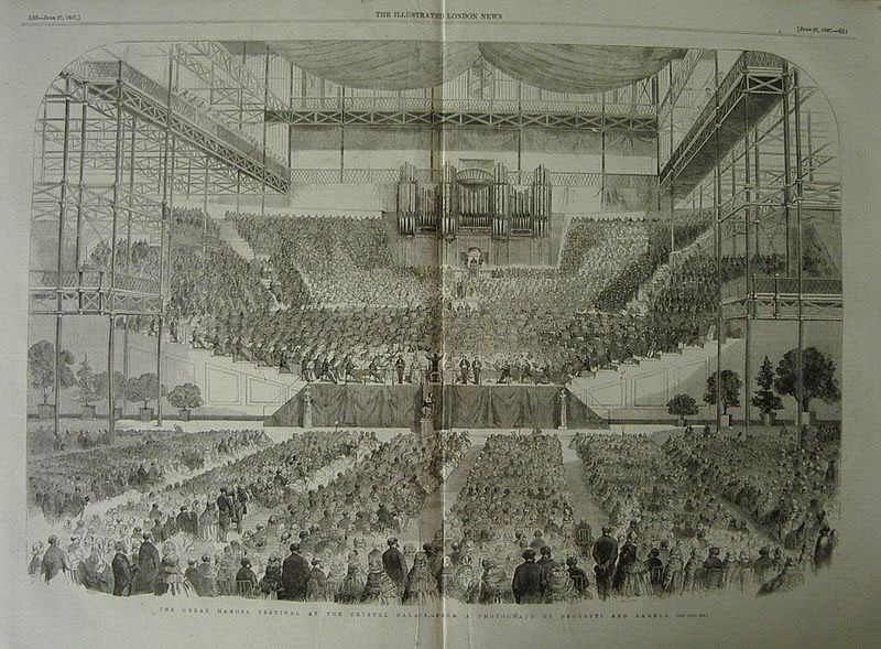 The Great Handel Festival, Crystal Palace, London, 1857 (image)