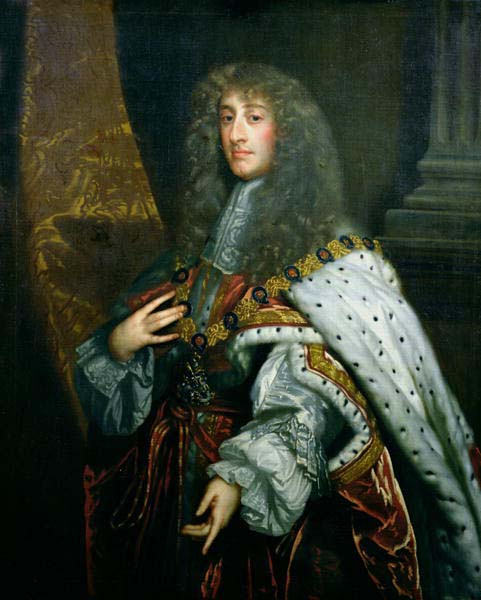 King James II of England by Peter Lely (image)