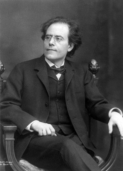 Gustav Mahler, 1909 (image)