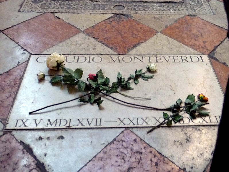 Claudio Moneverdi's tomb (image)