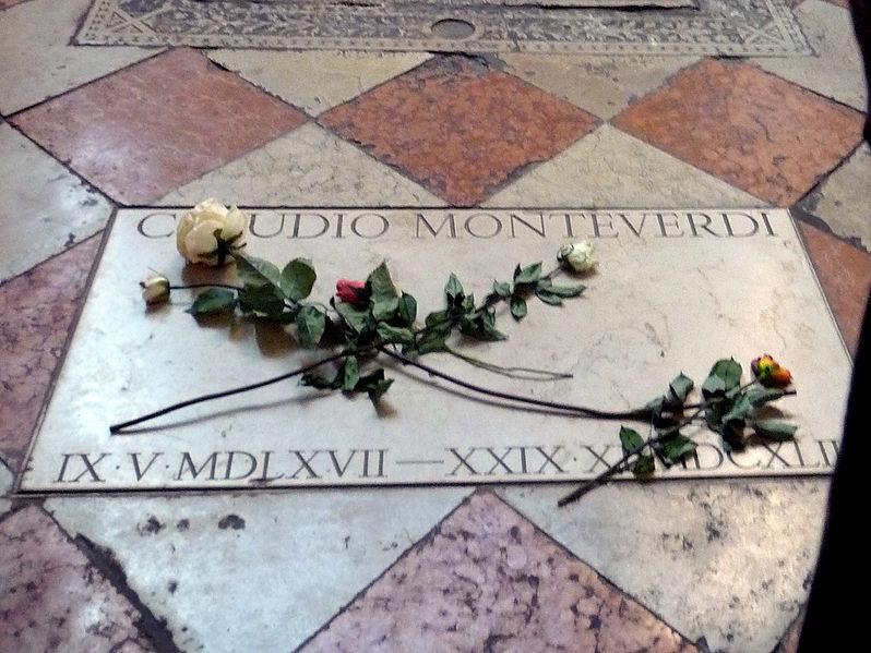 Claudio Moneverdi's tomb (image)