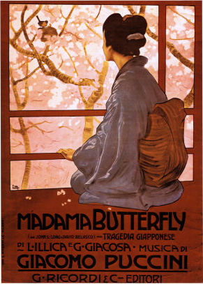 Another poster for Puccini's opera, Madame Butterfly (image)