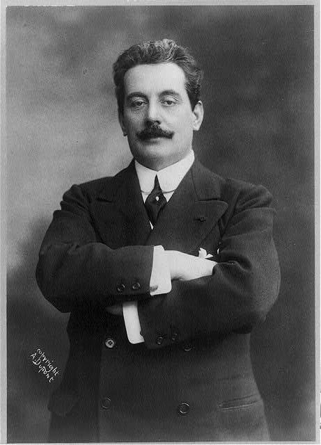 Giacomo Puccini, c. 1908 (image)