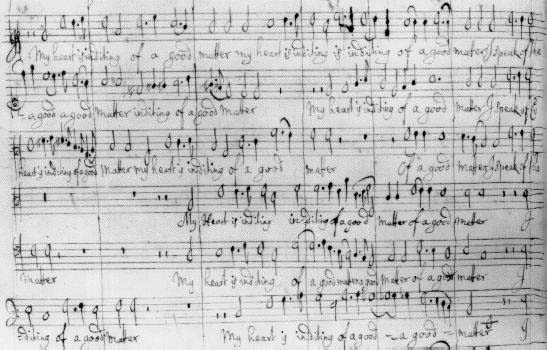Anthem, I was glad, by Henry Purcell (image)