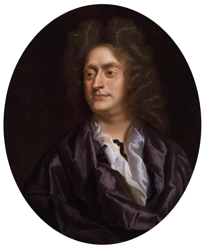 Henry Purcell, a painting by Clostermann, 1695 (image)
