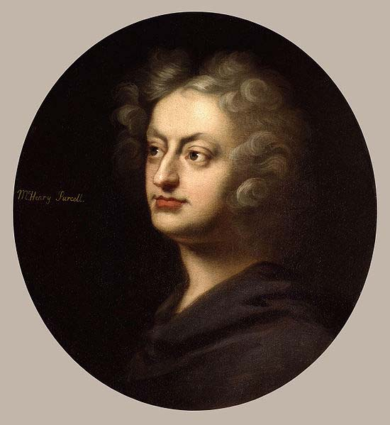 Henry Purcell - painting by Clostermann (image)