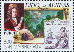 Dido and Aeneas, an opera by Henry Purcell (image)
