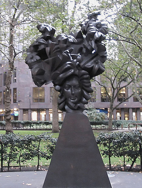Th Flowering of English Baroque - sculpture by Glynn Williams, 1994 (image)