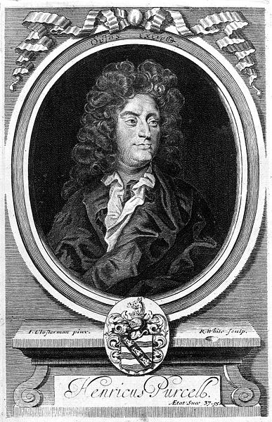 Henry Purcell, engraved by R. White after Clostermann (image)