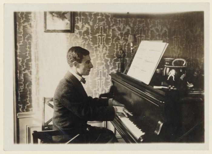 Maurice Ravel, circa 1912 (image)