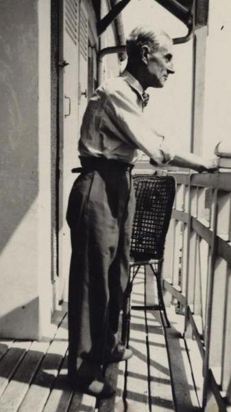 Maurice Ravel, circa 1930 (image)