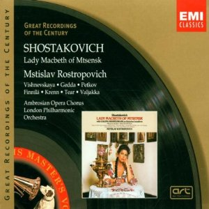 Shostakovich - Lady Macbeth of the Mtsensk District (image)