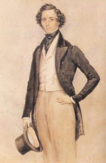 Felix Mendelssohn - 1829 (image)