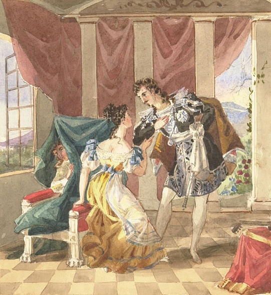 Marriage of Figaro (Mozart) painting