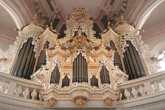 Hildebrandt Organ, St Wenzel, Naumberg