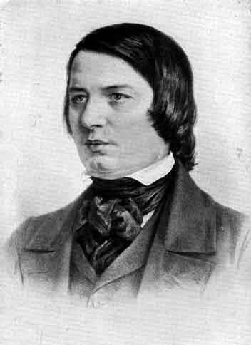 Robert Schumann (drawing by Adolph Menzel) (image)