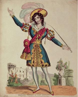 Vestris in Don Giovanni (Mozart) poster